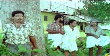 Jagadish Hiding behind tree, Mayin Kutty