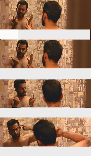 Prithviraj Fingers Counting Ivide Movie Memes