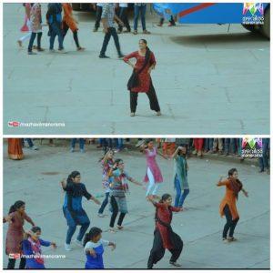 Aparna Balamurali Flashmob Dance Meme 2