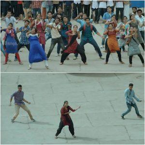 Aparna Balamurali Flashmob Dance Meme