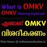 What OMKV Means, OMKV Explained, Enthanu OMKV , OMKV Fullform