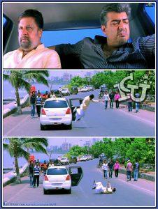 Mankatha Car Scene Ajith Plain Meme