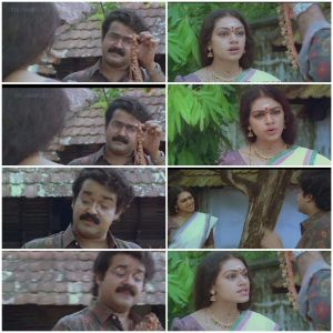 Mohanlal Shobhana Meme 1 Manichithrathazhu Movie Meme