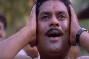 Thenga Pottikkal Thala Pottitherikkal Manthravadam Scene Meme 5