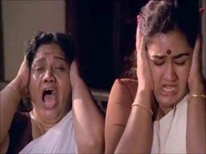 Thenga Pottikkal Thala Pottitherikkal Manthravadam Scene Meme 6