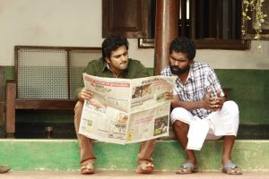 Unni Mukundan Reading Newspaper Meme in  KL 10 Patthu