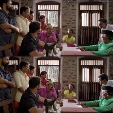 Dharmajan Bolgatty Jayasurya Aadharam Ponel Potte Vadam vali alle nammaku pradhanam