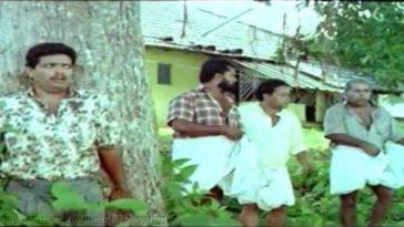 Jagadish Hiding behind tree, Mayin Kutty
